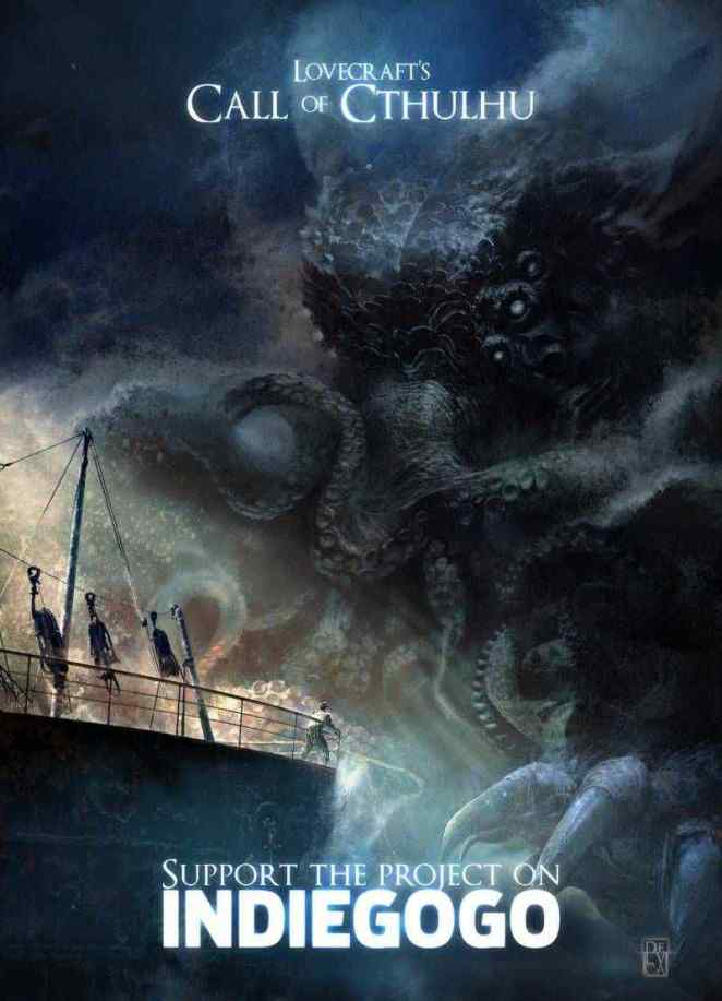 Lovecraft's Call of Cthulhu - The Movie   Horror Society