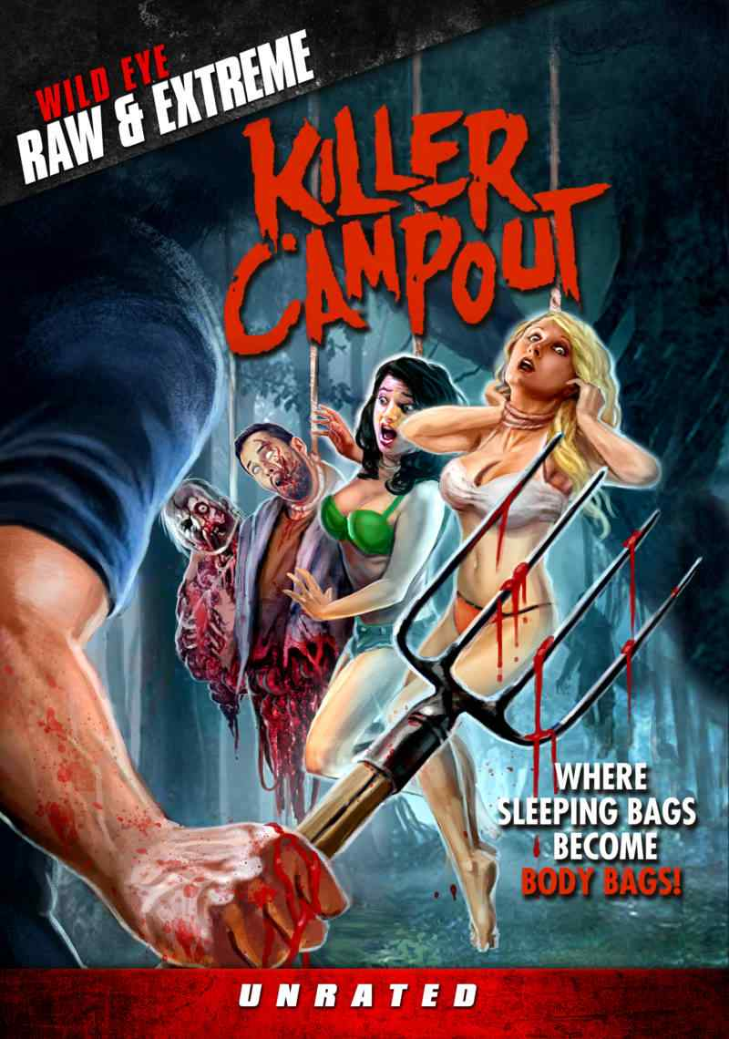 Exclusive - Killer Campout Poster and Trailer from Wild Eye Releasing