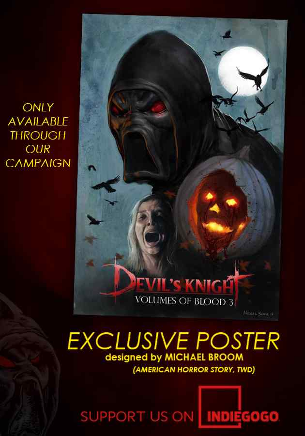 Devil's Knight: Volumes of Blood 3 Cast and Campaign Announcement