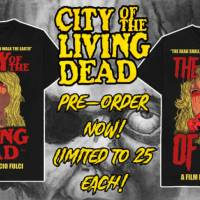 Officially licensed City of the Living Dead/Gates of Hell Shirts From Cover Your Corpse