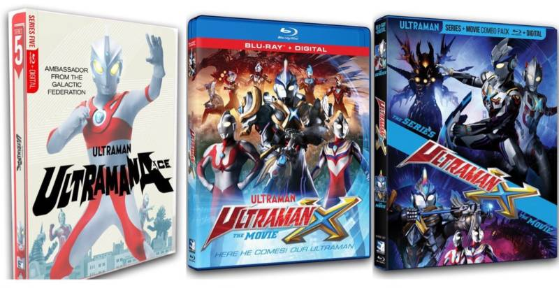 MILL CREEK ENTERTAINMENT TO BRING ULTRAMAN ACE AND ULTRAMAN X ON BLU-RAY IN SPRING 2020 | Horror Society
