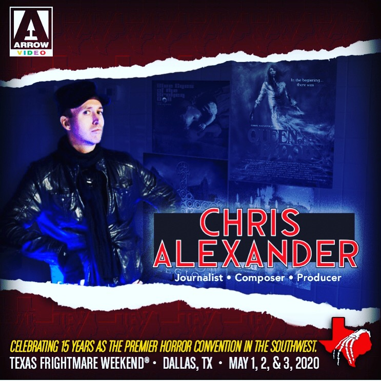 Chris Alexander to Appear and Perform LIVE at TEXAS FRIGHTMARE WEEKEND 2020 | Horror Society