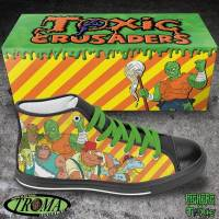 Big Herc & Troma Entertainment Team Up For Toxic Crusaders High Tops
