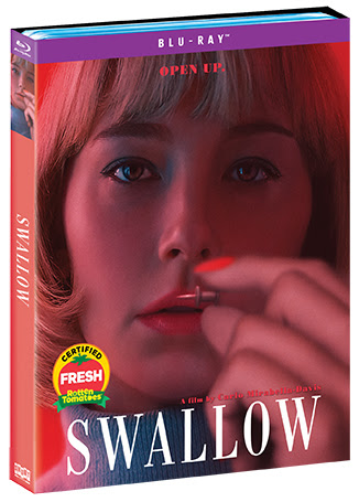 """Provocative Thriller """"Swallow"""" Makes Blu-ray and DVD Debut August 4, 2020   Horror Society"""