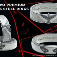 Love is Forever with the Exclusive The Crow Ring Set