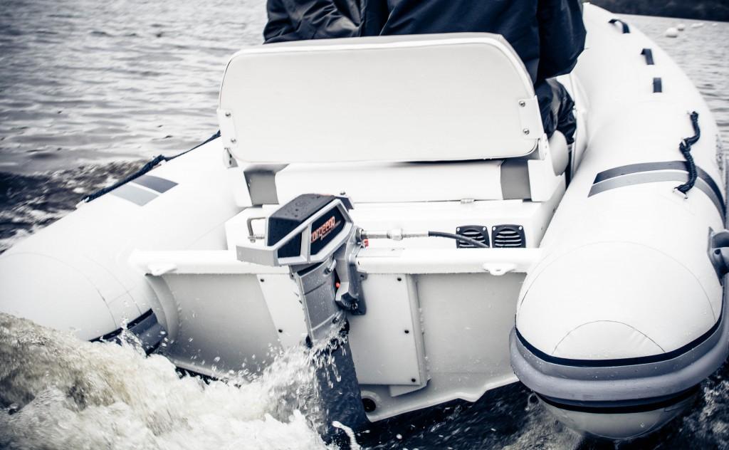 Accélération du Torqeedo Cruise 4.0R