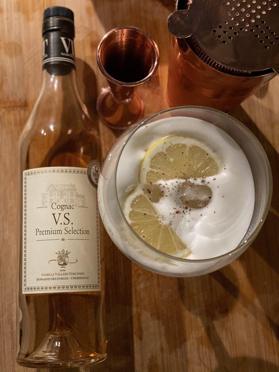 Vallein Tercinier V.S cocktail