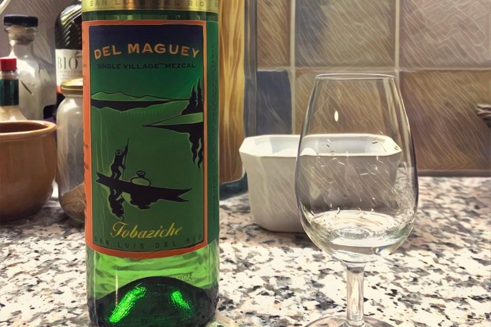 Del Maguy Tobaziche LMDW 47% mezcal tasting notes 3