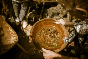 Equine Educational Programme - learning about gold panning
