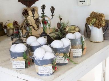 chenille snowball bowl filler