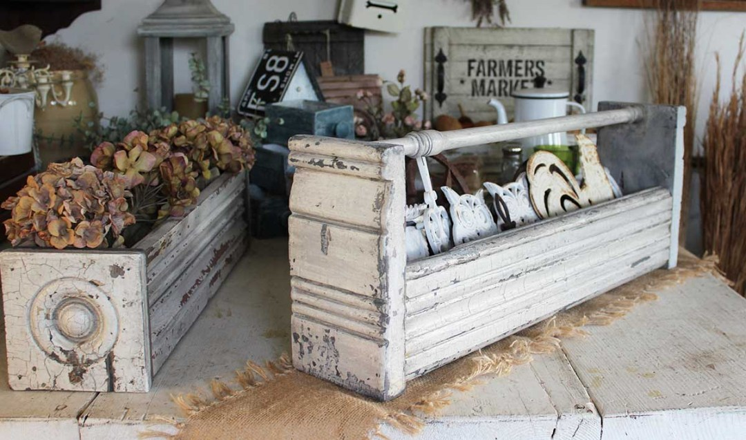 Architectural Salvage boxes
