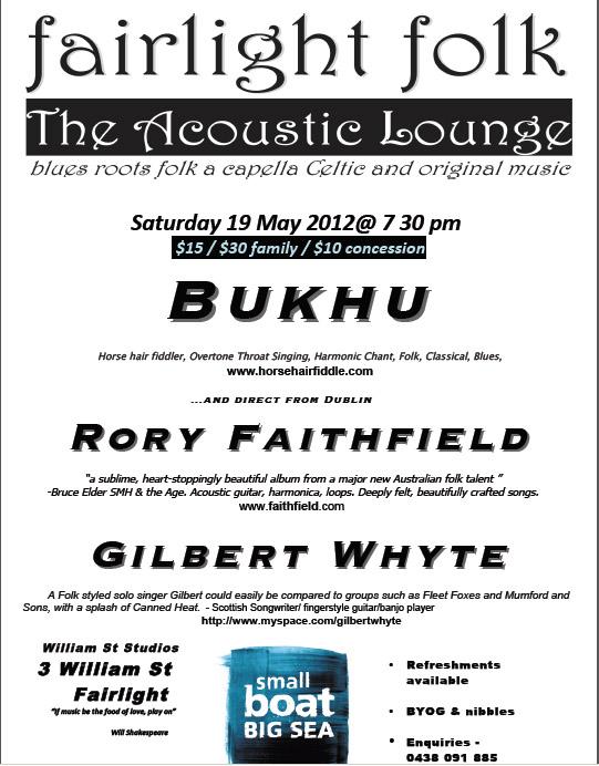 Fairlight Folk Acoustic Lounge
