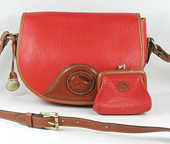 Dooney and Bourke All-Weather Vintage Flap Bag with coin purse