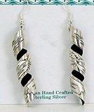 silverdust earrings