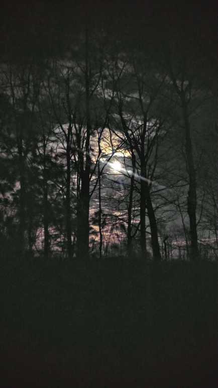 super moon-lit night ride
