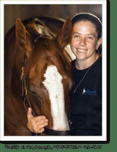 Melissa Buday, Tucker - 2 horses