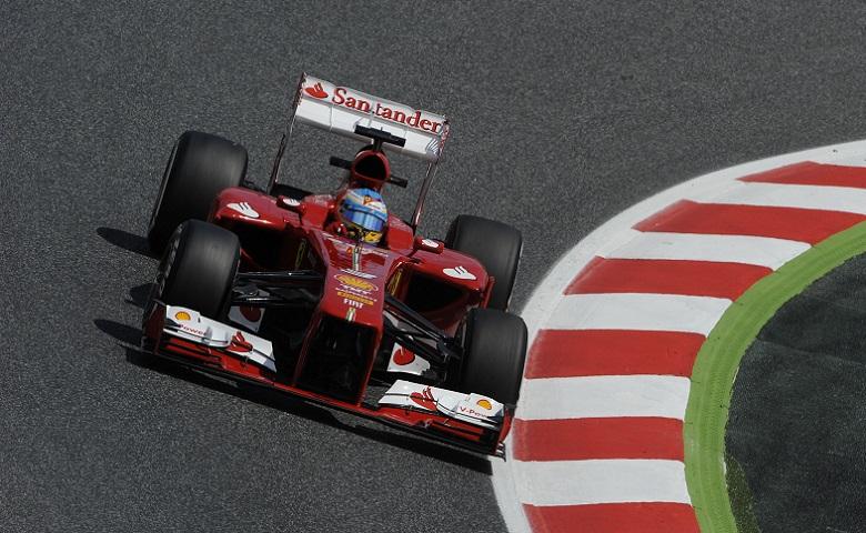 Fernando Alonso è stato il più veloce nella seconda sessione di libere in Canada con la sua F138 (© Foto Ercole Colombo per Ferrari Media)