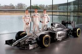 Kevin Magnussen, Jenson Button e Gary Paffett