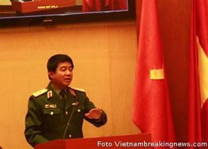Il tenente generale Vo Van Thuan (foto vietnambreakingnews.com)