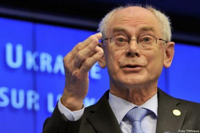Il presidente del Consiglio Europeo, Herman van Rompuy