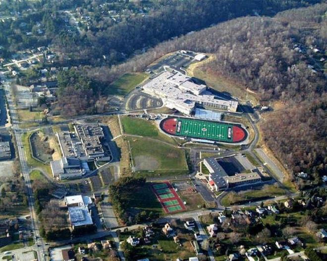 Il Franklin Regional Senior High School di Murrysvilee, in Pennsylvania