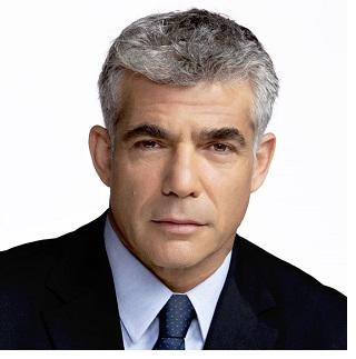 Yair Lapid, ministro delle Finanze nel Governo Netaniahu