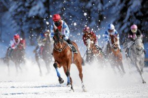 White Turf St. Moritz: 'H.H. Sheikha Fatima Bint Mubarak', Phraseur Kossack
