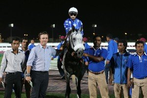 AL ATIQUE after the win