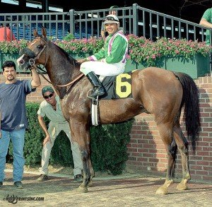 Don Condare in the circle on 8/19/00