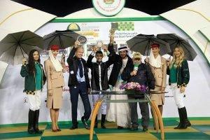 Af Hakim awards with Khalid Al Nabooda