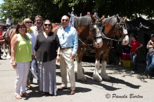 ARC stewards and guests