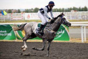 Iman winning Wathba Stallions Cup