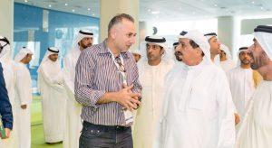 Morhaf and HH Sheikh Nuaimi