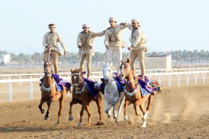 Omani top riders