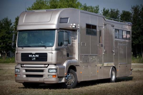 MAN TGA 18.390 HORSE TRUCKS