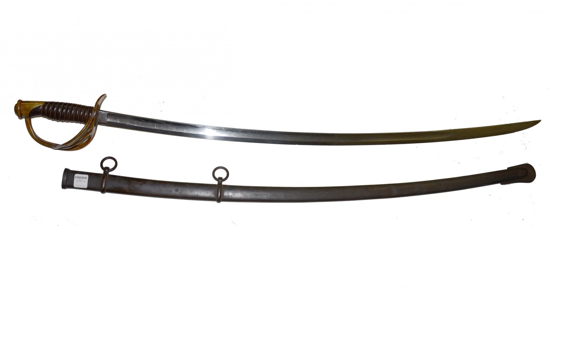 M Cavalry Saber And Scabbard Dated By D J