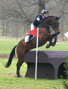 Dee Hankey (GB) and ChequersPlayboy (24th, Advanced section A)