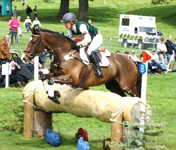 Kate Wood (NZ) and Easy Tiger IV