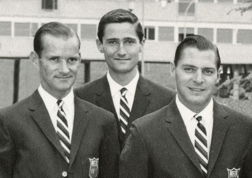From left, George Morris, Bill Steinkraus and Frank Chapot in their heyday.
