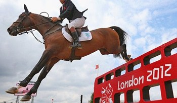 Britain's Nick Skelton and Big Star, who finished fifth equal.