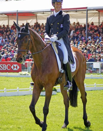 Dirk Schrade (GER) and King Artus