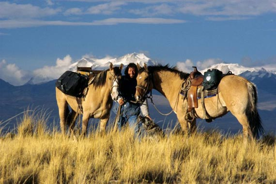 Gunter Wamser sets off from Patagonia nearly 20 years ago, bound for Alaska.
