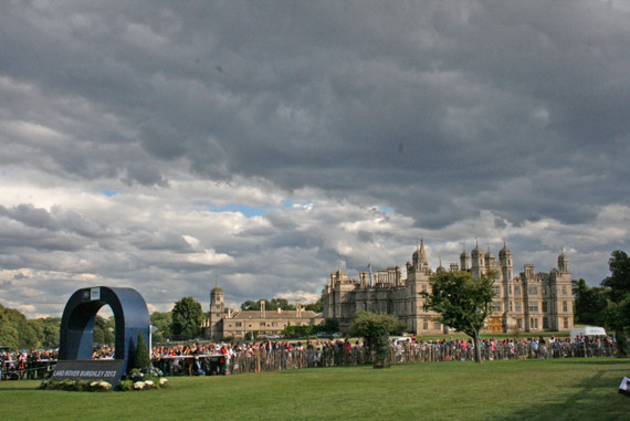 The home of the Burghley Horse Trials.