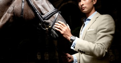 Alex Hua Tian is the new brand ambassador for Savile Row tailor Gieves & Hawkes.