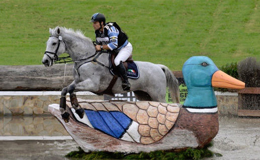 Sydney CCI3* winners Shane Rose and CP Qualified.