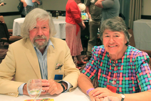 Peter Upton and Anne Brown