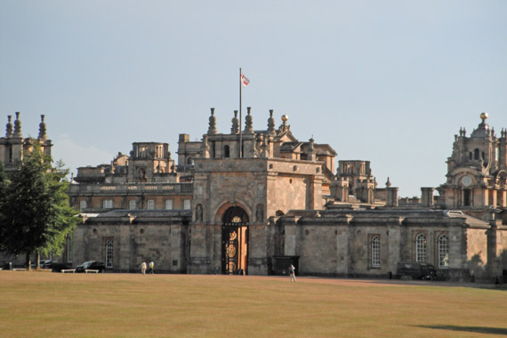 Blenheim Palace, a World Heritage site and home to the Blenheim Palace International Horse Trials.
