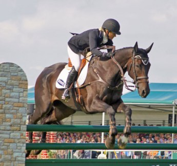 9th: Jonelle Price and The Deputy (NZL).