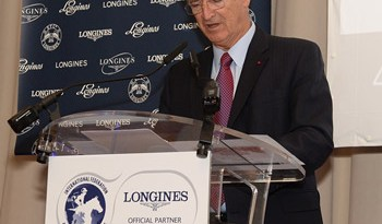 IFHA chairman Louis Romanet said protecting horse welfare remained paramount for the organisation. Photo: Mathea Kelley