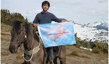 Filippe Masetti's horseback journey covered 16,000km.